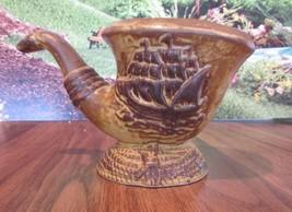 Vintage Rubens Originals sailing ship Planter b... - $14.85