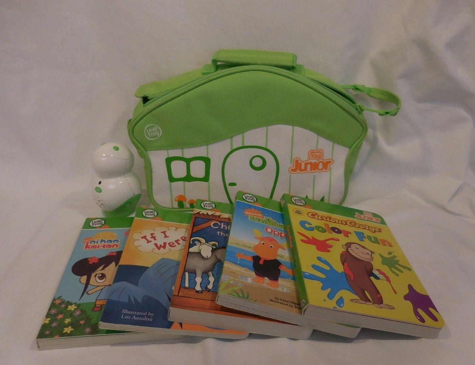 LeapFrog TAG Junior Reading System case Lot Backyardigans plus 4 more Books - $22.41