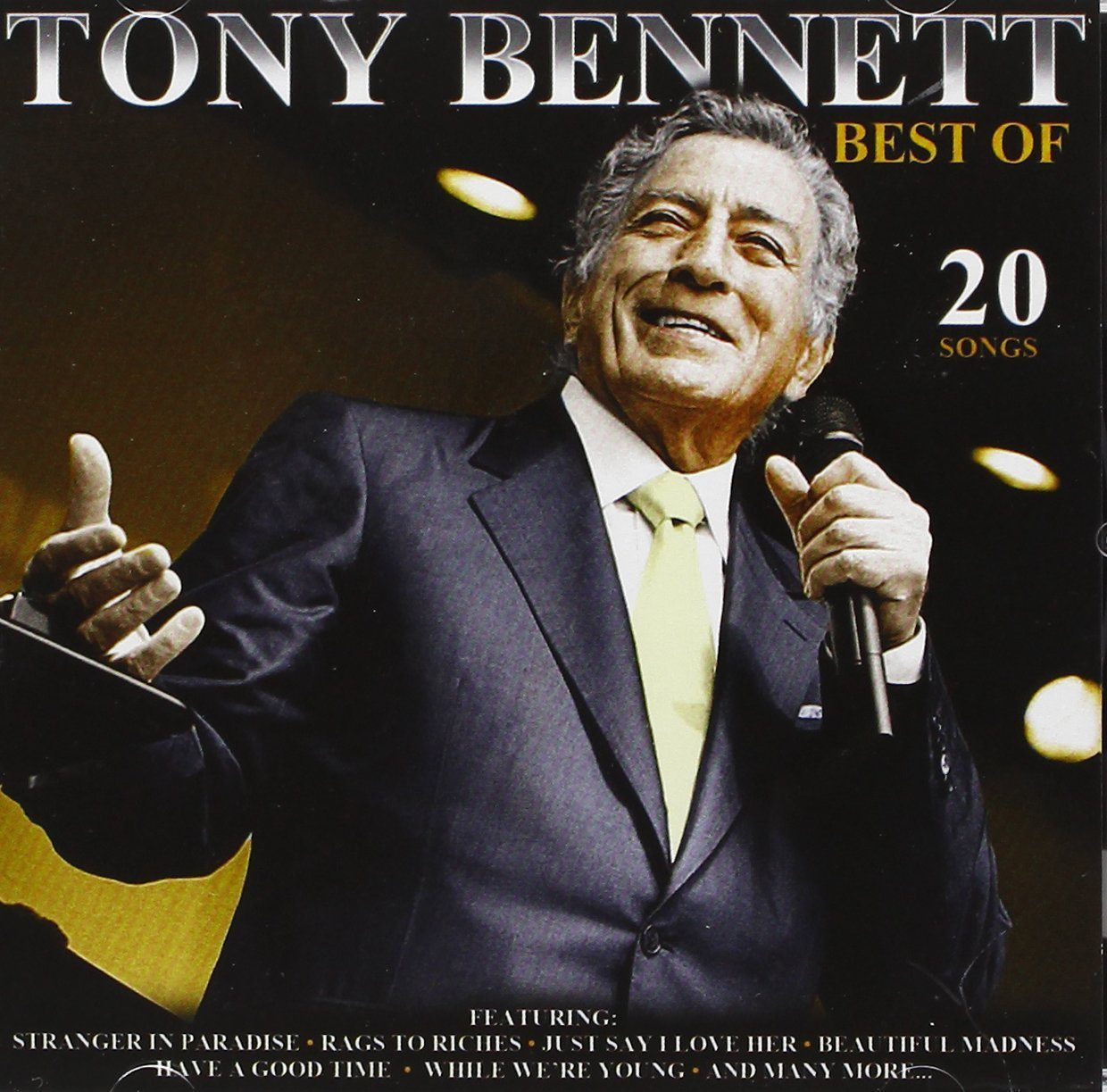 Best of   20 songs by tony bennett