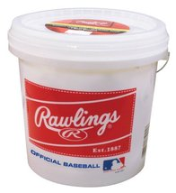 Rawlings Bucket 2 Dozen Baseballs Balls Official League Recreational Tra... - $99.00