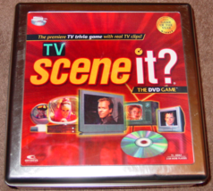 SCENE IT DVD GAME TV SCENE IT TIN 2006 SCREENLIFE KOHLS LIGHTLY USED  - $15.00