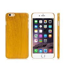 Light Wood Grain Thin Hard Plastic Back Case Cover for Apple iPhone 6 & ... - $4.00
