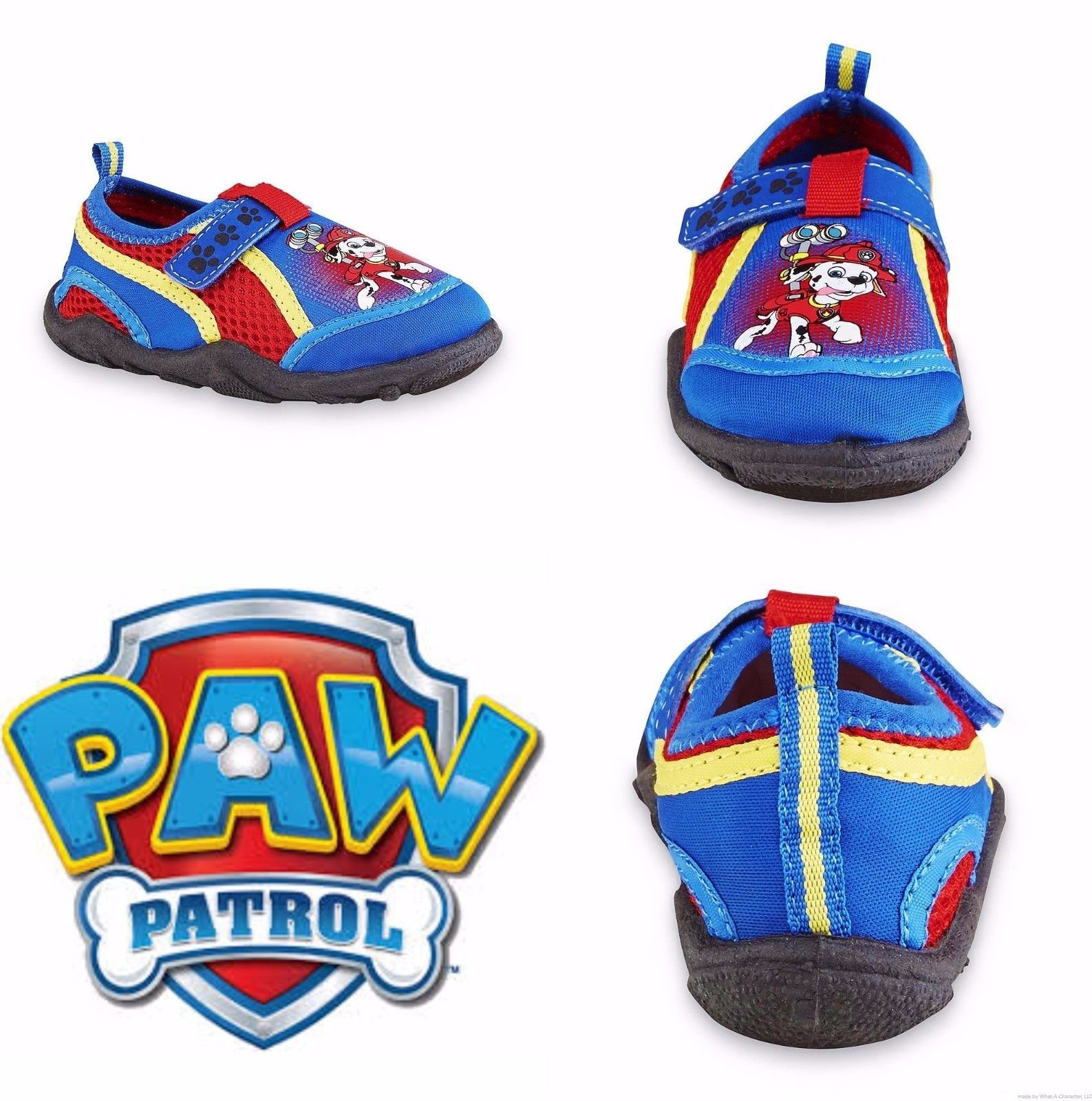 7caa8152315a S l1600. S l1600. Previous. PAW PATROL MARSHALL Swim Shoes Water Socks NWT  Toddler s Size 5-6 ...