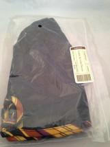 Longaberger Large Autumn Treats Basket Liner in Autumn Stripe Black Fabric - $14.65
