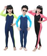 New Children Summer Piece Scuba & Snorkeling Wetsuit Rash Guard Surfing ... - $21.94