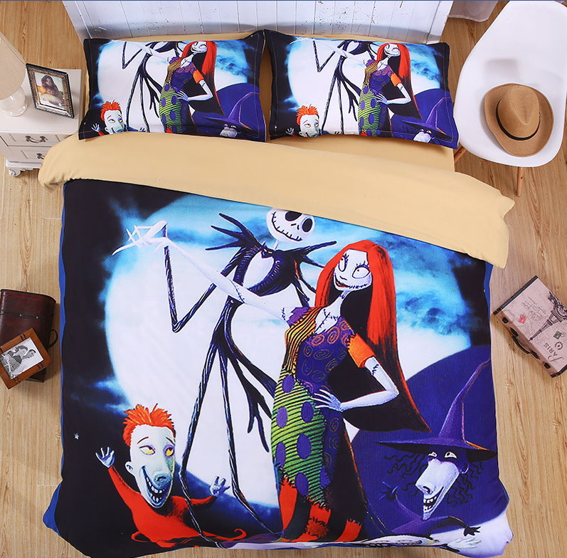 Designerbedding 515117 nightmare before christmas duvet