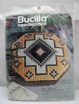 "Bucilla Needlepoint ""Flair"" 25"" Octagonal Floor Pillow or Wall Hanging Kit - $12.30"