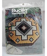 "Bucilla Needlepoint ""Flair"" 25"" Octagonal Floor Pillow or Wall Hanging Kit - $12.30"