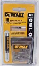 Dewalt DW2058 18 Piece Magnetic Screw Bit Drive Guide Set - $5.20