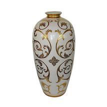 Stunning Large Sophia White/Gold  Decorative Vase Planter,32''H. - $272.25