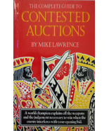 Complete Guide to Contested Auctions by Mike Lawrence Softcover Bridge ... - $8.99