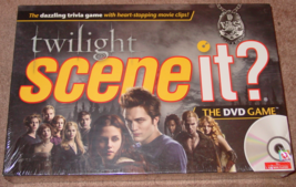 Scene It Dvd Game Twilight 2008 Screenlife Mattel New Factory Sealed Box - $20.00