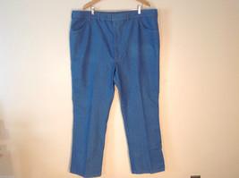 Men's Light Colored Denimen Jeans Size 50 x 32 Comfort Action Sports