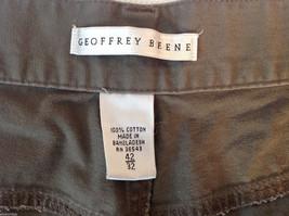 Men's Geoffrey Beene dark grey jeans size 42 x 32 wide pant leg image 4
