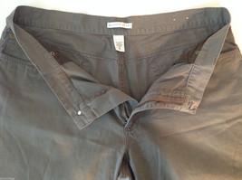 Men's Geoffrey Beene dark grey jeans size 42 x 32 wide pant leg image 3