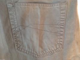 Men's Geoffrey Beene dark grey jeans size 42 x 32 wide pant leg image 5