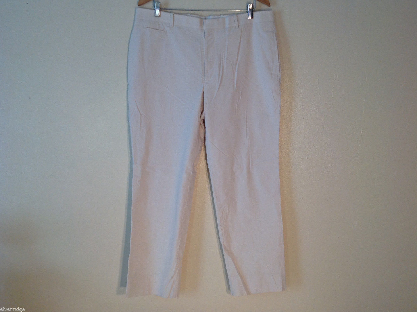 Women INC. Light Colored Cream Khaki Pants Size 36x30 Slim fit