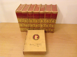 Vintage Mark Twain Works in 8 Volumes Harper and Bros Hardcover