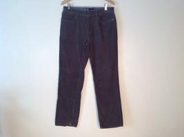 Unisex Dark Brown Corduroy Pants Jeans Weatherproof 34 x 32