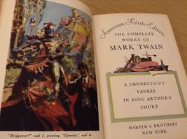Vintage Mark Twain Works in 8 Volumes Harper and Bros Hardcover image 6