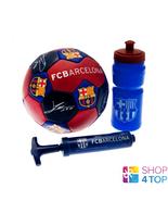 FC Barcelona Regalo Set Bola Bomba Botella Fútbol Oficial Del Club Equip... - $42.06