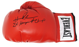 Hasim Rahman Signed Everlast Red Boxing Glove w/2x Heavyweight Champ - Schwartz - $88.11