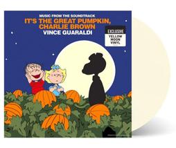Itss The Great Pumpkin Charlie Brown Soundtrack Halloween Yellow Moon Vi... - $99.99