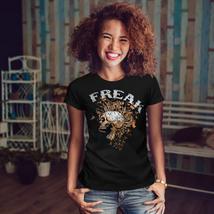 Freak Punk Rock Skull Shirt Scream USA Women T-shirt - $12.99