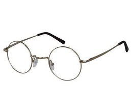 EBE Bifocal Reading Glasses Mens Womens Gold Harry Potter Style Horned R... - $31.99