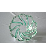 Mikasa Crystal Peppermint Swirl Small Bowl - $5.94