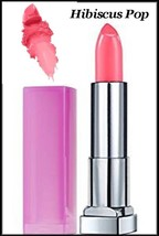 2 X  MAYBELLINE REBEL BLOOM COLOR SENSATIONAL LIPSTICK  #715 Hibiscus Pop - $10.95