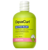 Deva Curl No-Poo Blue Toning Cleanser, 12oz