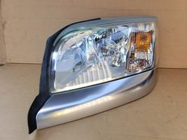 06-09 Mitsubishi Raider Headlight Head Light Lamp Driver Left LH - POLISHED image 1
