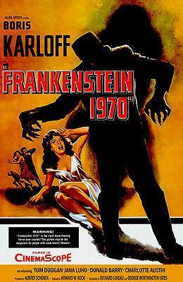 Primary image for Frankenstein 1970 - 1958 - Movie Poster