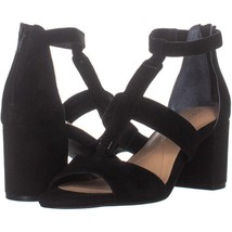 Alfani Eliana T-Strap Sandals 200, Black, 7 US - $27.83