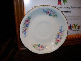 Homer Laughlin Pink Rose Saucer - $9.89