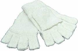 Steve Madden Womens Flip Touch Gloves Ivory - $19.11