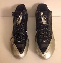 Nike Alpha Pro Flywire Oakland Raiders Football Cleats Size 16 - $32.73