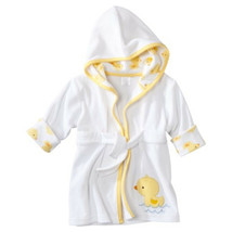 Just One You Made By Carter's Ducks Hooded Bath Robe swim cover 0-9 Mont... - $9.50