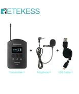 Retekess® Wireless Audio Portable TT103 UHF 1 Transmitter+1 Microphone+1... - $65.66