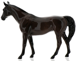 "Hagen-Renaker Miniature Ceramic Horse Figurine Thoroughbred ""Citation"" image 8"