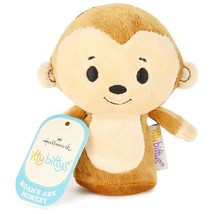 Noah's Ark Monkey Hallmark itty bitty bittys Plush Noah God Bible Love  ... - £10.97 GBP