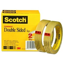 Scotch Double Sided Tape, Engineered for Office and Home Use, 3/4 x 1296... - €18,80 EUR
