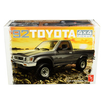 Skill 2 Model Kit 1992 Toyota 4x4 Pickup Truck 1/20 Scale Model by AMT A... - $48.29