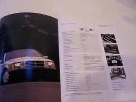 1992  1993  MERCEDES 300 CE  OWNERS SALES BROCHURE  W 208 PARTS  SERVICE - $29.99