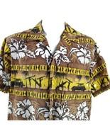 RJC Tribale Woodies Surfisti Tramonto XL Hawaiano Aloha Camicia - $34.39