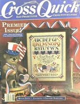 Cross Quick Premier Issue Magazine Quick Gifts Sampler USA Aug/Sept 1988... - $9.79