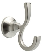 Delta Double Robe Hook Mandara Collection, Pivoting Brushed Nickel - $37.25