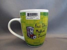First Class Medical Secretary Porcelain Coffee Mug History and Heraldry - $5.99