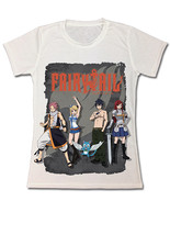 Fairy Tail Team Fairy Tail Dye Sublimation JRS T-Shirt GE59707 *NEW* - $26.99